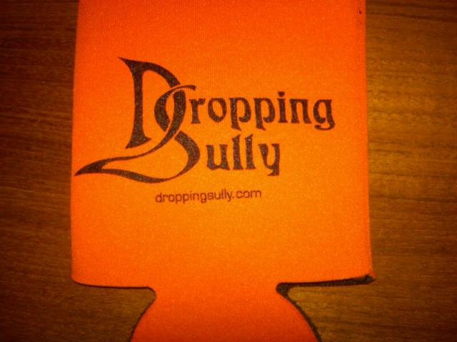 New Orange and Black Koozie